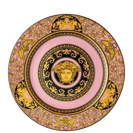 """-ROSE SERVICE PLATE/WALL PLATE. 11.75"""" WIDE"""