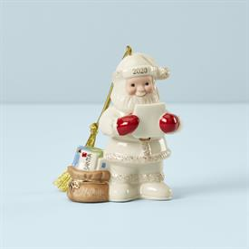 ":2020 LETTERS TO SANTA ORNAMENT. 4"" TALL. MSRP $66.00"