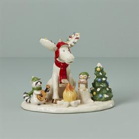 "_:2020 MERRY MARCEL & FOREST FRIENDS FIGURINE. 4.75"" WIDE. MSRP $100.00"
