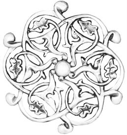-,Istanbul Sterling Silver Christmas Ornament by Hand & Hammer