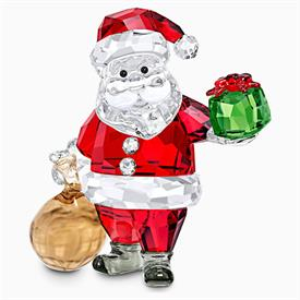"""-,SANTA CLAUS WITH GIFT BAG FIGURINE. 2.6"""" TALL, 2.75"""" WIDE, 1.2"""" DEEP"""