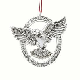 "-,$Radiant Dove 3.25"" Exquisite Sterling Silver Ornament made by Barrett & Cornwall in year 2020 MSRP $200"