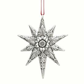 "-,$Star of Grace 3.25"" Sterling Silver Ornament made by Barrett & Cornwall in year 2020 MSRP $190"
