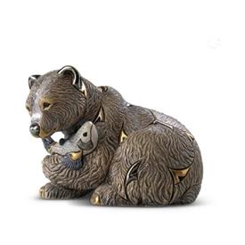 "-,GRIZZLY BEAR. 5.8"" LONG, 3.8"" WIDE, 4.4"" TALL"