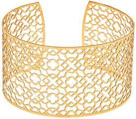 _GOLD FILIGREE BRASS CUFF BRACELET. MSRP $32.95