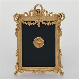 "_,1782G 'FLORAL SWAG' 2.5X3.8"" FRAME IN GOLD FINISH\"