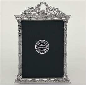 "_,1700 'FRENCH TABERNACLE' 4X6"" FRAME IN SILVER FINISH"