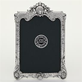 "_,1643 'VICTORIAN SHELL' 4X6"" FRAME IN SILVER FINISH"