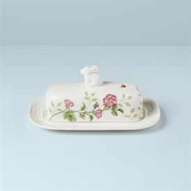 -COVERED BUTTER DISH. MSRP $58.00