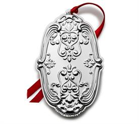 -,Gorham Chantilly Annual Sterling Silver Ornament for year 2021 14th Edition made by Gorham in USA M S R P $247.50