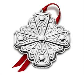 -,Gorham Cross Annual Sterling Silver Ornament made for year 2021 8th edition by Gorham in USA M S R P $240.00
