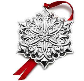 -,32nd.Old Master Snowflake Sterling Silver Ornament made by Towle for Year 2021 in USA 32nd Edition M S R P $240