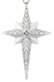 -,STAR OF COURAGE STERLING SILVER ORNAMENT BY BARRETT+CORNWALL  RETAIL WAS: $200