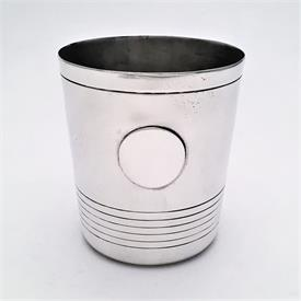 ",JULEP CUPS STERLING SILVER 4.80 TROY OUNCES EACH 3.5"" TALL BY WILLIAM SPRATLING"