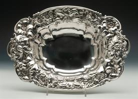 ",WHITING FLORAL STERLING SILVER BOWL 12.25 TROY OUNCES 12"" X 8.5"" X 2"" VERY BEAUTIFUL!"