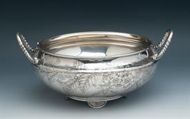 ",GORHAM AESTHETIC STERLING SILVER BOWL WEIGHT 27.15 TROY OUNCES 8.5"" DIAMETER 5"" TALL CONDITION 8.5 OF 10"