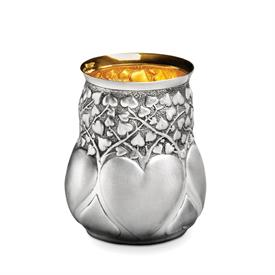 -HEARTS JULEP CUP BY GALMER. 4.5""