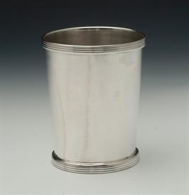 "B&M Sterling Silver Julep Cup 4 troy ounces 3.75"" tall condition is a 5 out of 10 some dings and imperfections,but overall they face up well"
