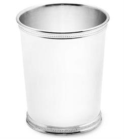 "-$286 KENTUCKY JULEP CUP/BEAKER. SILVER PLATE. 3.75"" TALL, 10 OZ. CAPACITY. BREAKAGE REPLACEMENT AVAIALBLE. REED & BARTON."