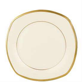 "-9"" SQUARE ACCENT SALAD PLATE. MSRP $50.00"
