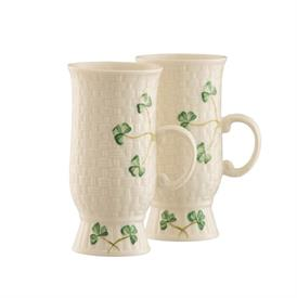 -PAIR OF IRISH COFFEE MUGS