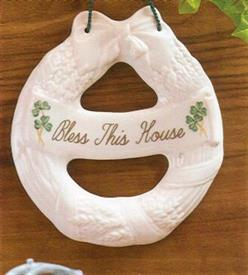 -HOUSE BLESSING WREATH