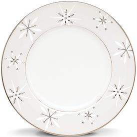 """-9"""" SNOWFLAKE ACCENT PLATE. MSRP $70.00"""