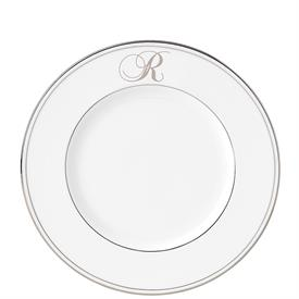 _SCRIPT SINGLE LETTER MONOGRAM ACCENT PLATE. AVAILABLE IN LETTERS A THROUGH Z.