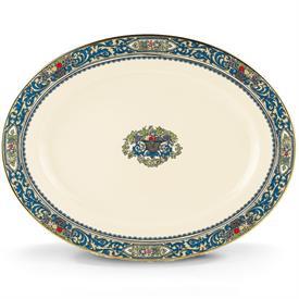 """,16"""" Oval Platter, Gold Backstamp"""