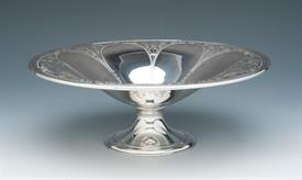 ",FLORAL BOWL MADE BY TIFFANY STERLING SILVER CONTAINS 18.05 TROY OUNCES MEASURES 9.5"" DIAMETER BY 3.5"" TALL"