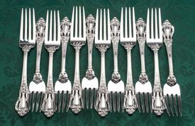 ,.79 Piece Service for 12 Place Size Eloquence by Lunt Sterling Silver Was $4,587   Weight: 113.10 troy ounces