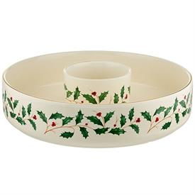 "_12"" ROUND CHIP & DIP BOWL. MSRP $80.00"