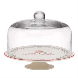 _CAKE PLATE WITH DOME
