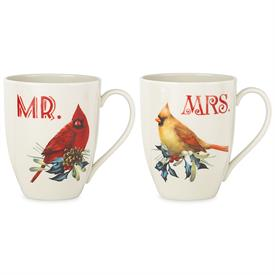 -MR. & MRS. MUG SET. MSRP $40.00