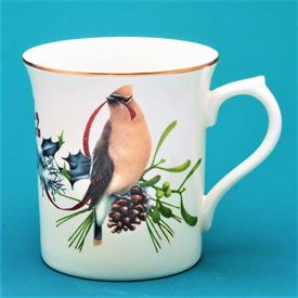 CEDAR WAXWING & DARK EYED JUNCO MUG