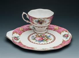 ,SANDWICH SET CUP AND PLATE