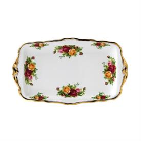 "-SANDWICH TRAY. HAND WASH. 11.75"" WIDE."