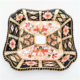 ",4.75"" SQUARE TRAY DATED 1913."