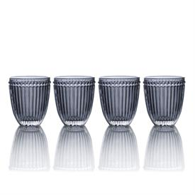 -SMOKE DOUBLE OLD FASHIONED GLASS, SET OF 4