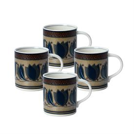 -SET OF 4 MUGS