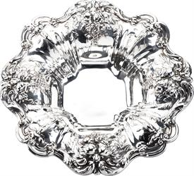 ".X569 BON BON DISH 8"" DIAMETER 10.10 Troy ounces STERLING SILVER IN FRANCIS 1 BY REED & BARTON"