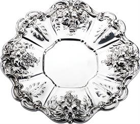",.SANDWICH PLATE 17.45 TROY OZ. 11.25"" DIAMETER FRANCIS 1 BY REED & BARTON STERLING SILVER"