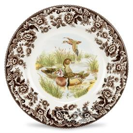 -SALAD PLATE, WOOD DUCK