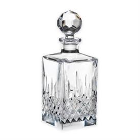 "-,DECANTER 10.5"" TALL, 26 OZ. CAPACITY. HAND WASH. BREAKAGE REPLACEMENT AVAILABLE."