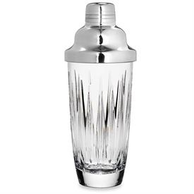 "_COCKTAIL SHAKER. 10.5"" TALL, 24 OZ. CAPACITY. HAND WASH. BREAKAGE REPLACEMENT AVAILABLE."