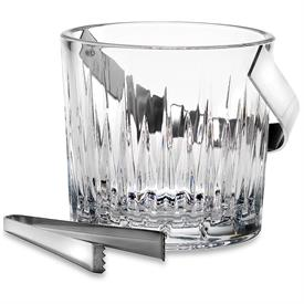"-6"" ICE BUCKET WITH TONGS"