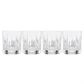 -SET OF 4 WHISKEY GLASSES. 10 OZ. CAPACITY.