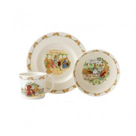 -,3-PIECE CHILD'S SET. INCLUDES PLATE, BOWL, & MUG. DISHWASHER & MICROWAVE SAFE. MSRP $72.00