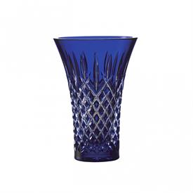 "-,8"" COBALT BLUE FLARED VASE"