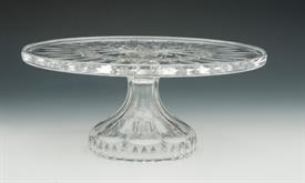 ",CAKE STAND 4 3/4""T X 11""D"